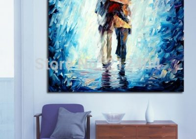 Walking-Together-Under-The-Rain-Canvas-Painting-Printed-Wall-Pictures-for-Home-Office-Cafe-Decoration.jpg_640x640